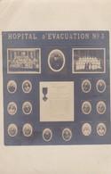 CPA Photo.  HOPITAL D'EVACUATION N° 3 - War 1914-18