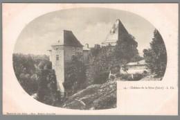 CPA 38 - Château De La Sone - Non Classés