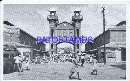 91839 HAITI VIEW IRON MARKET  POSTAL POSTCARD - Unclassified