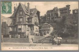 CPA 14 - Villers Sur Mer - La Digue Et La Villa Des Algues - Villers Sur Mer