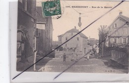 BEAUCOURT (90) Rue De La Mairie - Beaucourt