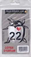 Sticker Cox Love 22 Côtes D'Armor - Autres Collections