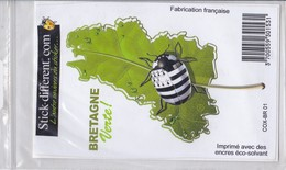 Sticker Cox Breizh Bretagne - Andere Verzamelingen