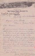 U.S.A.:1914: Illustrated Letter From ## Joseph QUINET, Vine Street, 221, SANDUSKY Ohio ## To  ## Mr. Jules HARDY, ... - United States