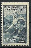 """FR YT 417 """" Oeuvres Sociales Pour Les étudiants """" 1938 Neuf** - Frankreich"""