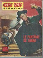 "COW BOY MAGAZINE N° 11 - 1965 "" LE FANTOME DE ZORRO "" Clayton MOORE / Pamela BLAKE - Kino"