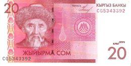 Kyrgyzstan - Pick 24 - 20 Som 2009 - Unc - Kirghizistan