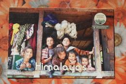 NEPAL, FACE OF THE HIMALAYAS - Portrait Of A Children - Folk People, Little Girl - Nepal