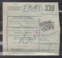 Fragment Met Stempel Carlsbourg - 1942-1951