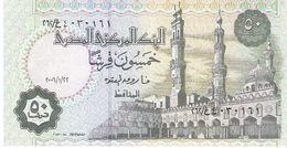 Egypt - Pick 62k - 50 Piastres 2006 - Unc - Egitto