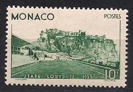 Monaco 1939  Yvertn° 184  (*) MLH Cote 138 Euro Stade Louis II - Monaco