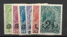 1920 MH Liechtenstein - Nuovi