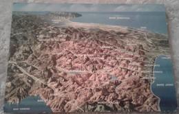La Basilicata Vista Dal Monte Pollino - Cartina Panoramica - Unclassified