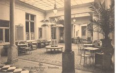 Bruxelles - CPA - Brussel - Hôtel De Bordeaux - Le Hall - Cafés, Hotels, Restaurants