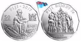Fidji - 50 Cents 2017  (Rugby Sevens Olympic Winners - UNC) - Fiji