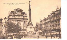 Bruxelles - CPA - Brussel - Place De Brouckère - Monument Anspach - Places, Squares