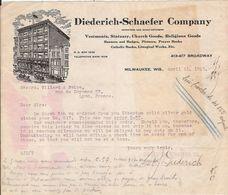 The Diederich Schaefer Compagny Milwaukee Wisconsin Etats Unis - Etats-Unis