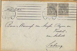 8Nb-973: N° 62 In Paar : NIJMEGEN 17.II.4-5N > Sabang 20.3.22 - Periode 1891-1948 (Wilhelmina)