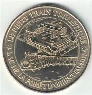 Fauté Monnaie De Paris 10. Montieramey - Petit Train Foret D'Orient Type 1. 2008 - 2008