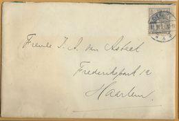 8Nb-972: N° 62 : OVERVEEN 11.III. 21..10-11N > Haarlem - Periode 1891-1948 (Wilhelmina)