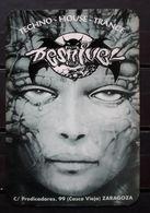 1997 PUB - DISCOTECA DESNIVEL. ZARAGOZA. - Tamaño Pequeño : 1991-00