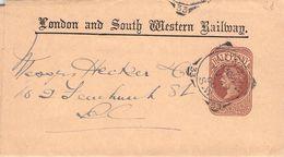 GREAT BRITAIN - WRAPPER 1900 LONDON - 1840-1901 (Viktoria)