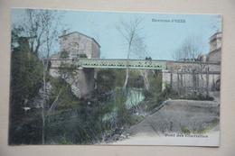 Environs D'UZES-pont Des Charrettes-couleurs - Uzès