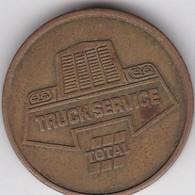 TOKEN JETON - TRUCK SERVICE - TOTAL - Professionals / Firms