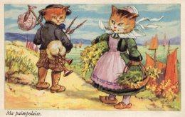 V12654 Cpa Illustrée Chat - Chats -  Ma Paimpolaise - Katten