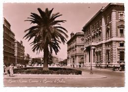 BARI - CORSO CAVOUR E BANCA D'ITALIA  - VIAGGIATA FG - Bari