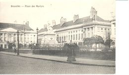 Bruxelles - CPA - Brussel - Place Des Martyrs - Places, Squares