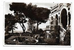 VENTIMIGLIA - LA MORTOLA - PARTICOLARE DI VILLA HAMBURY  - VIAGGIATA FP - Imperia