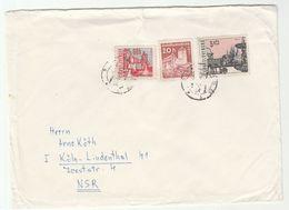 1971 CZECHOSLOVAKIA  Stamps COVER  To Germany - Czechoslovakia