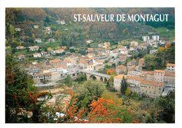 Saint Sauveur De Montagut  (scan Recto Et Verso ) Carte Postale Moderne - France