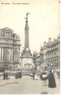 Bruxelles - CPA - Brussel - Monument Anspach - Places, Squares