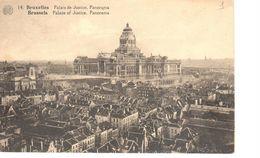 Bruxelles - CPA - Brussel - Le Palais De Justice - Panorama - Panoramische Zichten, Meerdere Zichten