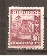 Andorra Española - Edifil 53 - Yvert 48 (MNH/**) - Andorra Española