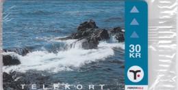 Faroe Islands, OD-026,  30 Kr ,  Faroese Fishing, Faroese Reef, Mint In Blister, 2 Scans,  . - Faroe Islands