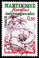 FRANCE  1979-  Y&T  2035  - Floralies Martinique - Oblitéré - France