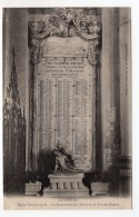 CPA    54   LUNEVILLE---EGLISE ST-JACQUES---LE MONUMENT AUX MORTS DE LA GRANDE GUERRE---RARE ? - Luneville