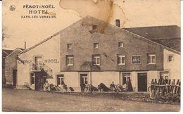 PALISEUL PÈROT-NOËL  HOTEL FAYS-LES-VENDEURS Re 752  état !!!  D2 - Paliseul