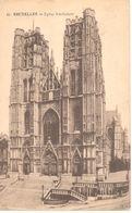 Bruxelles - CPA - Brussel - Eglise Ste-Gudule - Bossen, Parken, Tuinen