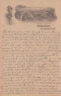 U.S.A.:1906: 2 Illustrated Letters From ## Épouse Joseph QUINET, Vine Street, 221, SANDUSKY Ohio ## To  ## Mr. Fr. ... - Etats-Unis