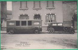 53 - Laval - Cybèle - Camping A. Simon - Editeur: ? (caravane) - Laval
