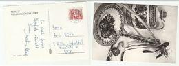 CZECHOSLOVAKIA COVER (postcard EASTER)  Stamps OSTRAVA INDUSTRY COAL STEEL Energy Minerals - Czechoslovakia