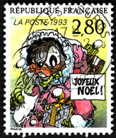 FRANCE  1993  -  Y&T 2847  -  Joyeux Noël  -  Oblitéré - Francia