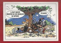 MOTO - ILLUSTRATEUR - HUMOUR - JOE BAR TEAM -  PEINARD..SAVOIR PROFITER DES MOMENTS DE DETENTE.... ! - 760 - Moto