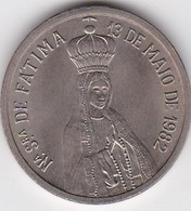 PORTUGAL MEDAL - OUR LADY FÁTIMA - 13 MAIO 1982 - POPE JOHN PAUL II - Royal / Of Nobility