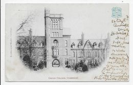 Cambridge - Girton College - Undivided Back - Embossed Crest - Cambridge