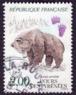 France  1991 -  Y&T 2721 -  Ours Des Pyrenées    - Oblitéré - France